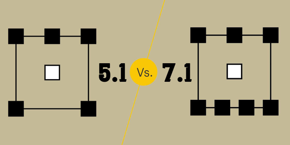5.1 vs. 7.1 Surround Sound